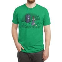 Adventure Awaits - mens-triblend-tee - small view