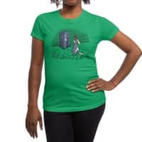 Adventure Awaits - womens-regular-tee - small view