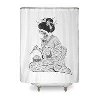 Geishaaa! - shower-curtain - small view