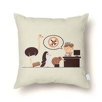 The No-Fly List - throw-pillow - small view