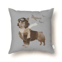 Defenders of the Sky - throw-pillow - small view