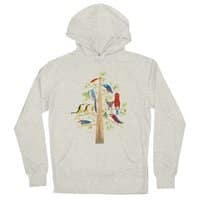 The Perch Party - unisex-lightweight-pullover-hoody - small view