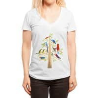 The Perch Party - womens-deep-v-neck - small view