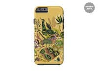Cosmic Peacock - double-duty-phone-case - small view