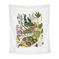 Cosmic Peacock - indoor-wall-tapestry-vertical - small view