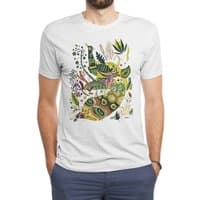 Cosmic Peacock - mens-triblend-tee - small view
