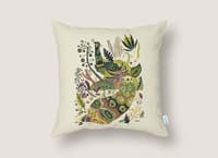 Cosmic Peacock - throw-pillow - small view