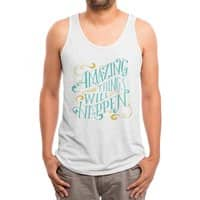 Amazing Things - mens-triblend-tank - small view