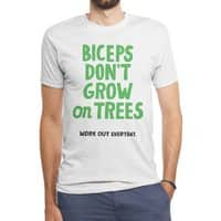 Workout Every Day - mens-triblend-tee - small view