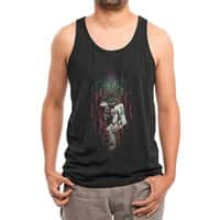 Falling from the Space - mens-triblend-tank - small view