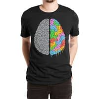 A Brain of Two Halves - mens-extra-soft-tee - small view