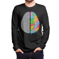 A Brain of Two Halves - mens-long-sleeve-tee - small view