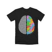 A Brain of Two Halves - mens-premium-tee - small view