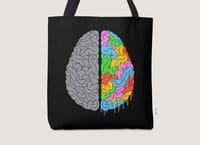 A Brain of Two Halves - tote-bag - small view