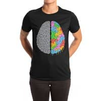 A Brain of Two Halves - womens-extra-soft-tee - small view