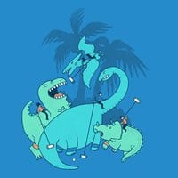 Polo with Dinosaurs - small view