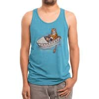 Life of a Pie - mens-triblend-tank - small view