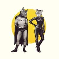 A Bat and a Cat - small view