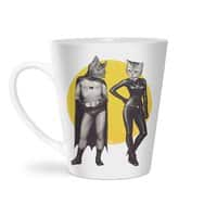 A Bat and a Cat - latte-mug - small view
