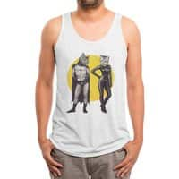A Bat and a Cat - mens-triblend-tank - small view
