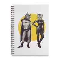 A Bat and a Cat - spiral-notebook - small view