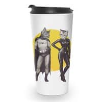 A Bat and a Cat - travel-mug - small view