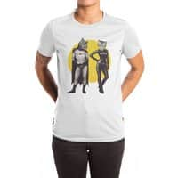 A Bat and a Cat - womens-extra-soft-tee - small view