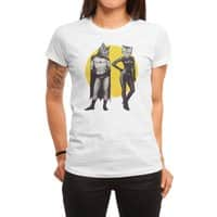 A Bat and a Cat - womens-regular-tee - small view