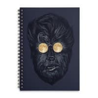 Moon Glasses - spiral-notebook - small view