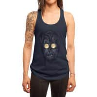 Moon Glasses - womens-racerback-tank - small view