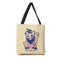 Lucky Cat Pirate - tote-bag - small view