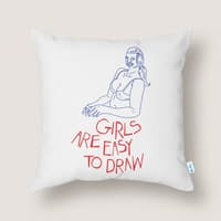 Girls are Easy to Draw - small view