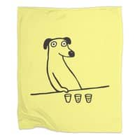 Dog Drunkard - blanket - small view