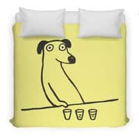 Dog Drunkard - duvet-cover - small view