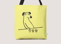 Dog Drunkard - tote-bag - small view