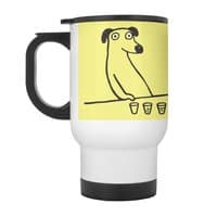 Dog Drunkard - travel-mug-with-handle - small view