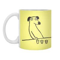 Dog Drunkard - white-mug - small view