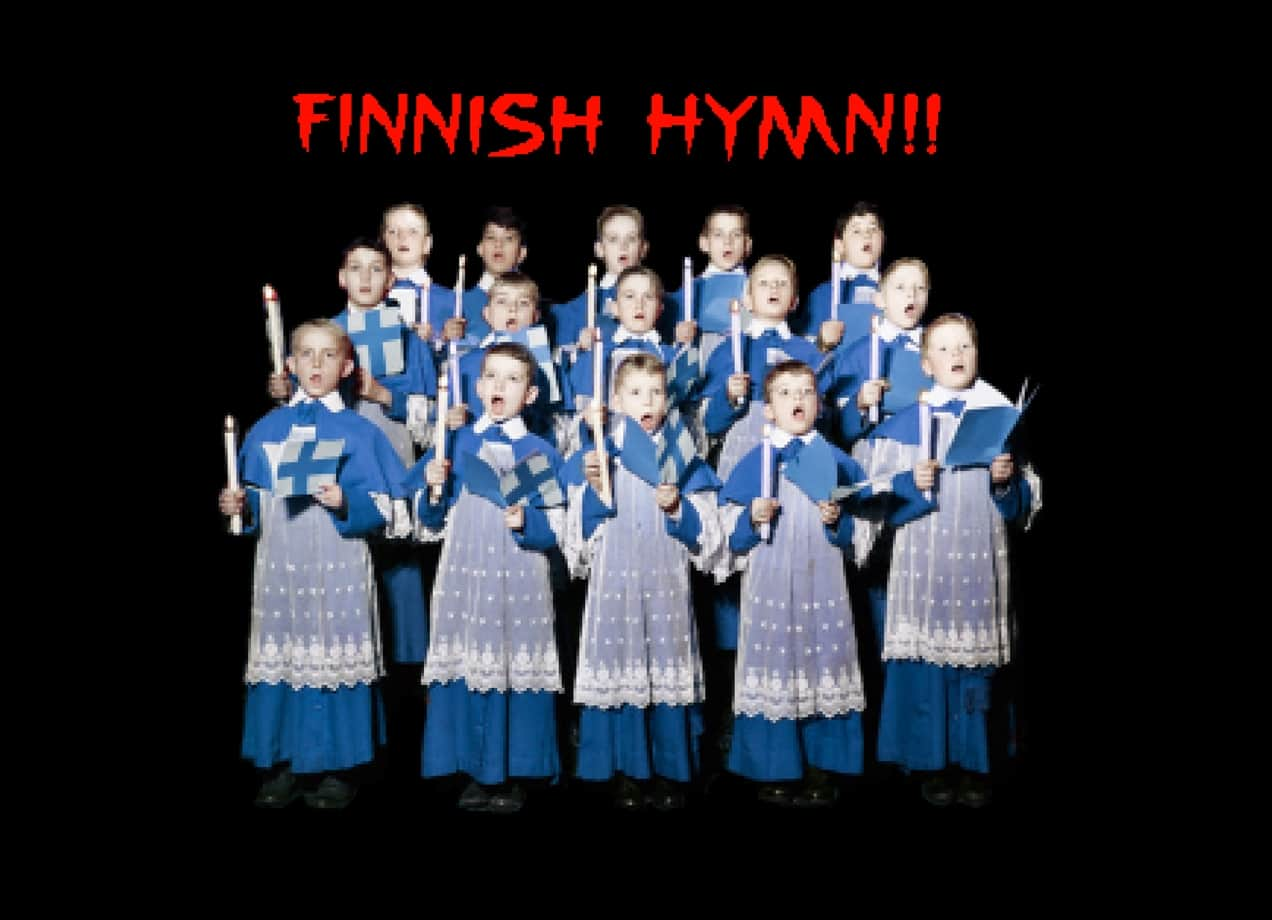 Finnish Hymn By Olly Moss And Aled Lewis Threadless