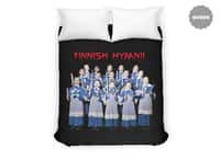 Finnish Hymn! - duvet-cover - small view