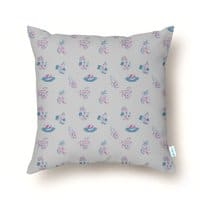 Luausy Vacation - throw-pillow - small view