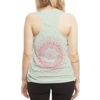 Flowerious 2.0 - womens-sublimated-racerback-tank - small view