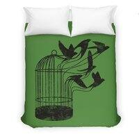 Breaking Through to Freedom - duvet-cover - small view