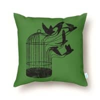 Breaking Through to Freedom - throw-pillow - small view