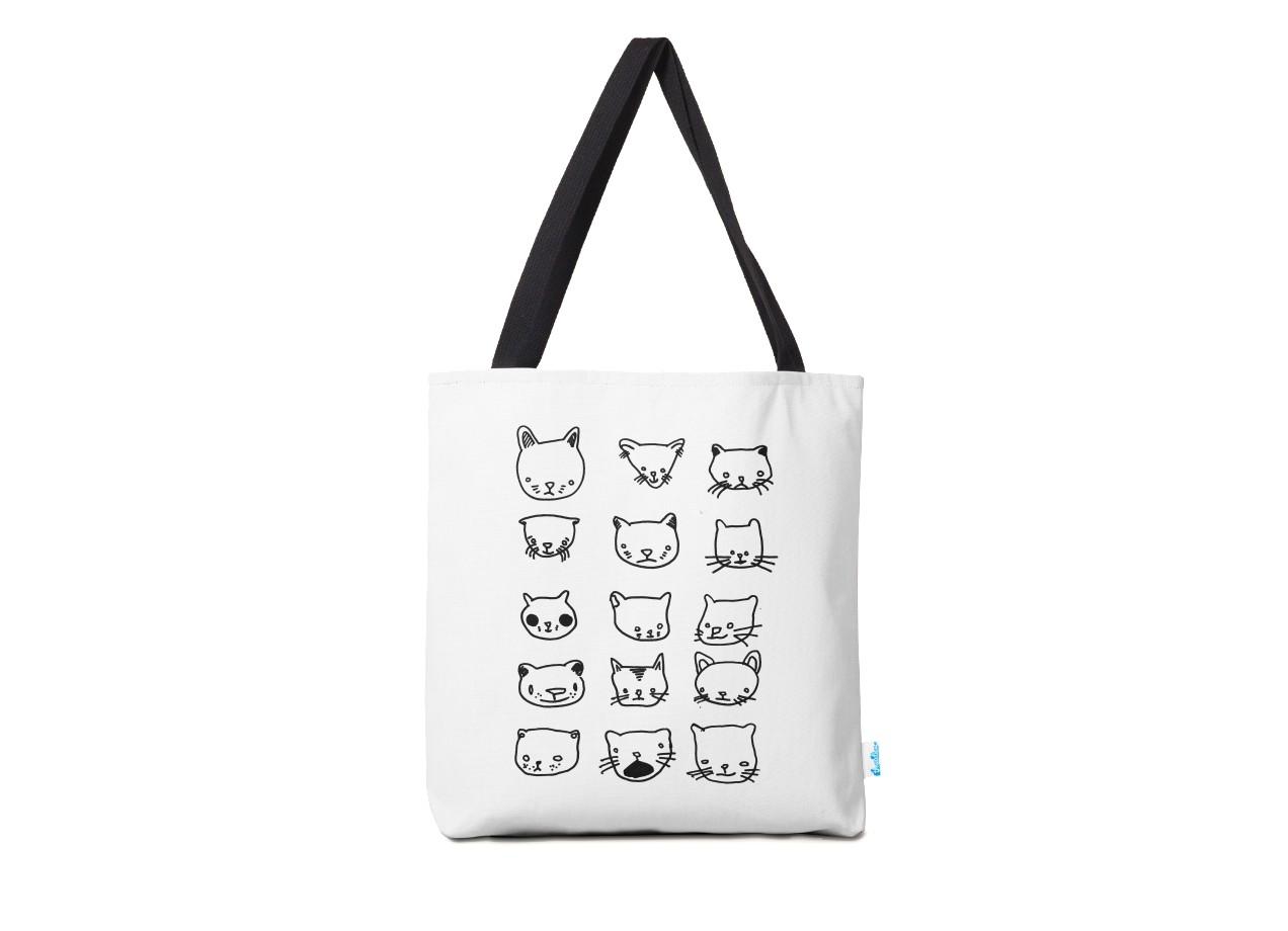 cd678df231 Drunken Cat Drawings by Jillian Fisher | Tote Bag Threadless