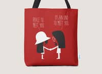 Peace to Meet You - tote-bag - small view