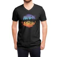Against the Moon - vneck - small view