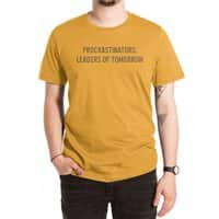 Procrastinators: Leaders of Tomorrow - mens-extra-soft-tee - small view