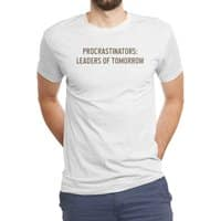 Procrastinators: Leaders of Tomorrow - mens-triblend-tee - small view