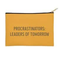 Procrastinators: Leaders of Tomorrow - zip-pouch - small view