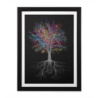 It Grows on Trees - black-vertical-framed-print - small view